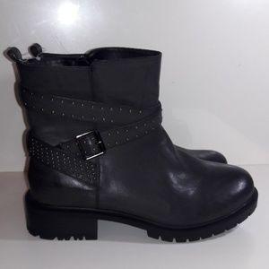 New Torrid Combat Studded Moto boots 11.5 W